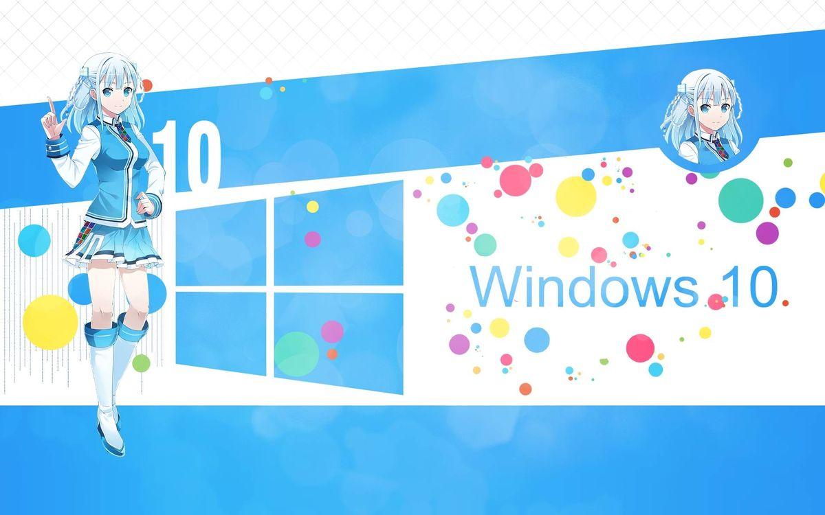 Аниме windows 10 · бесплатное фото