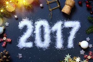 Обои Рождество, фон, дизайн, элементы, новогодние обои, новый год, текстура, 2017, дата, с 2017 годом