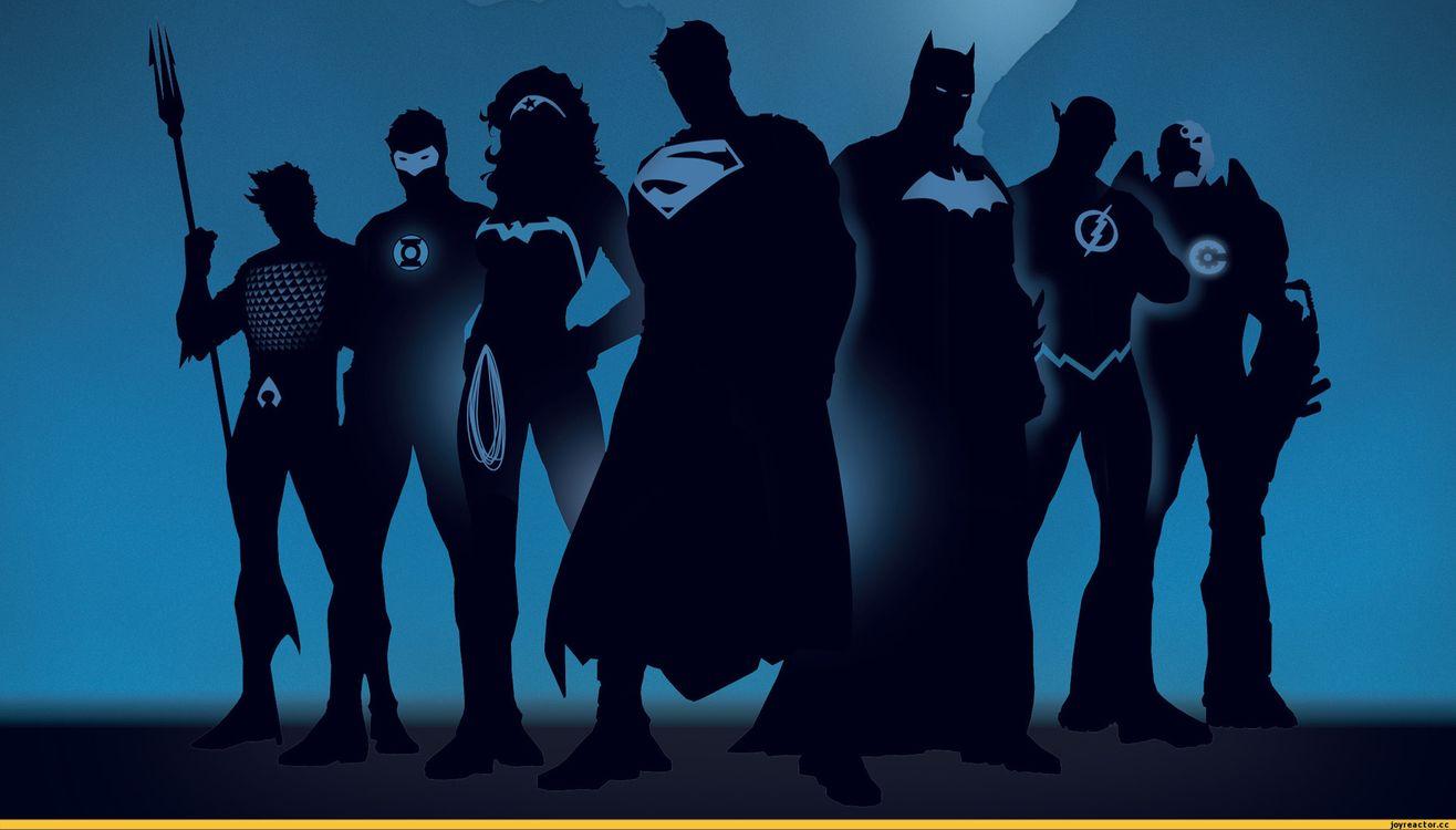 Фото супергерои силуэты комиксы - бесплатные картинки на Fonwall