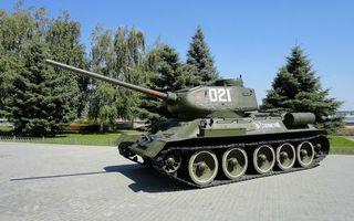 Бесплатные фото танк,т-34,башня,ствол,звезды,броня,гусеницы