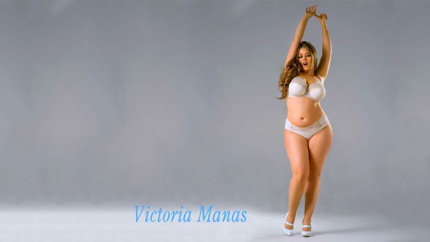 Photo free Viktoria Manas, large forms, beautiful girl