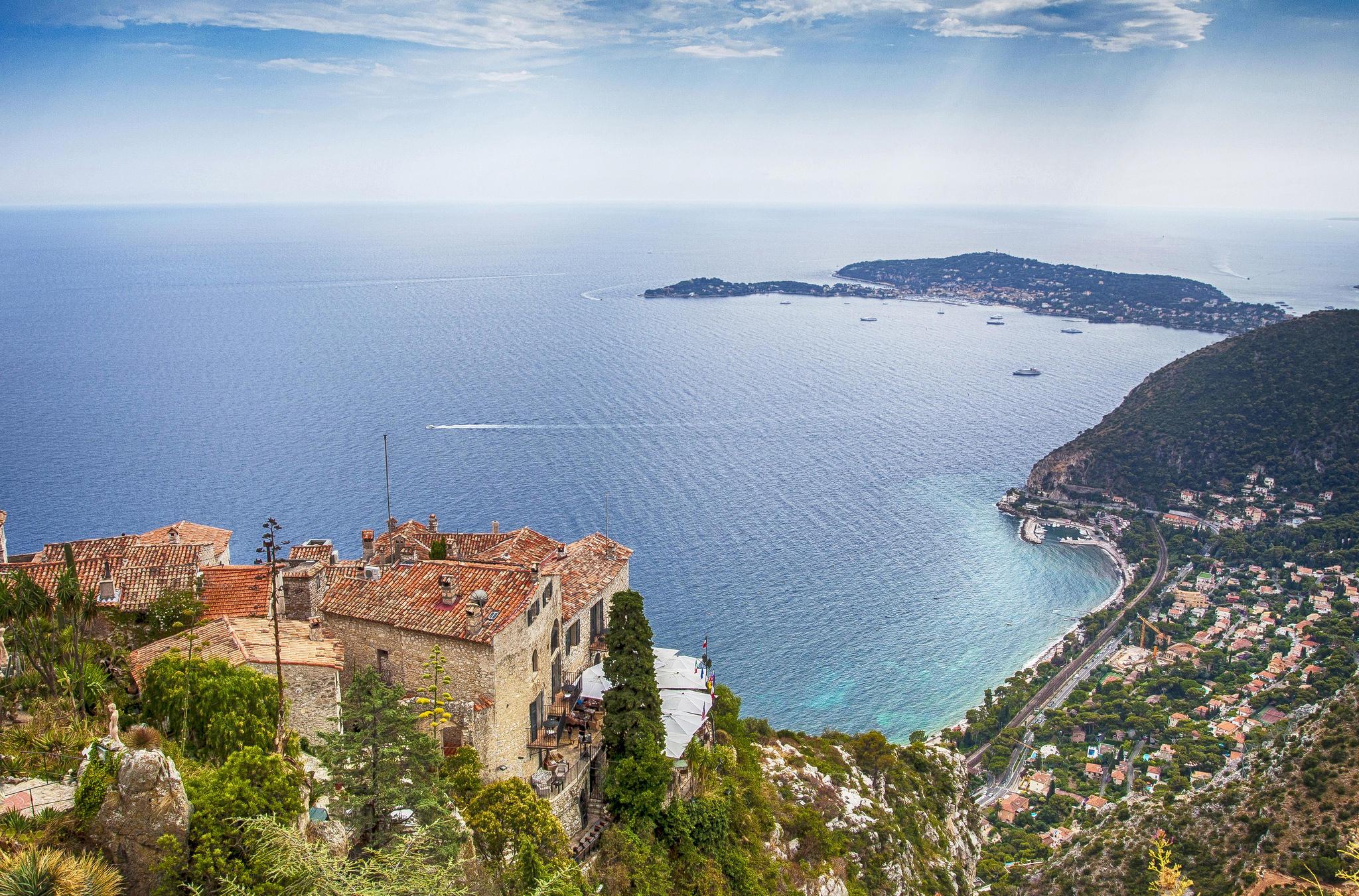 Обои Лазурный Берег, Средиземное море, Франция, Прованс