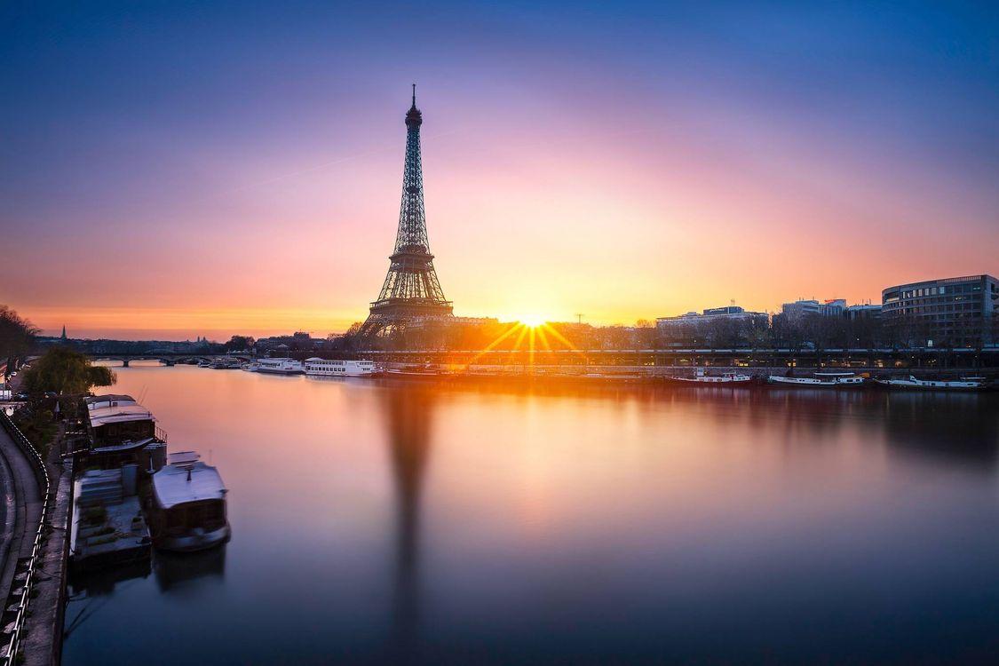 Заставка франция, эйфелева башня на монитор