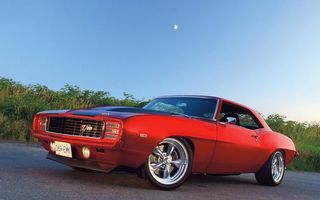 Photo free chevrolet kamaro, rarity, red