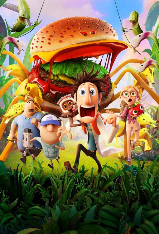 Фото бесплатно Облачно 2 Месть ГМО, Cloudy with a Chance of Meatballs 2, мультфильм, фэнтези, комедия, семейный, постер, мультфильмы
