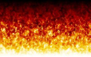 Обои огонь, пламя, языки, заставка
