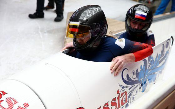 Photo free bobsled, sled, athletes