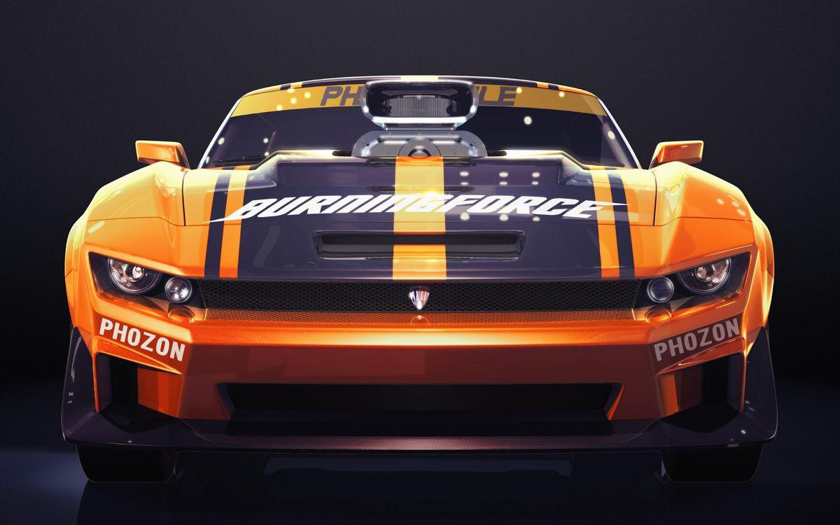 Фото бесплатно Chevrolet Camaro, оранжевый, спортивный - на рабочий стол