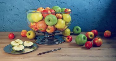 Бесплатные фото яблоки, фрукты, натюрморт
