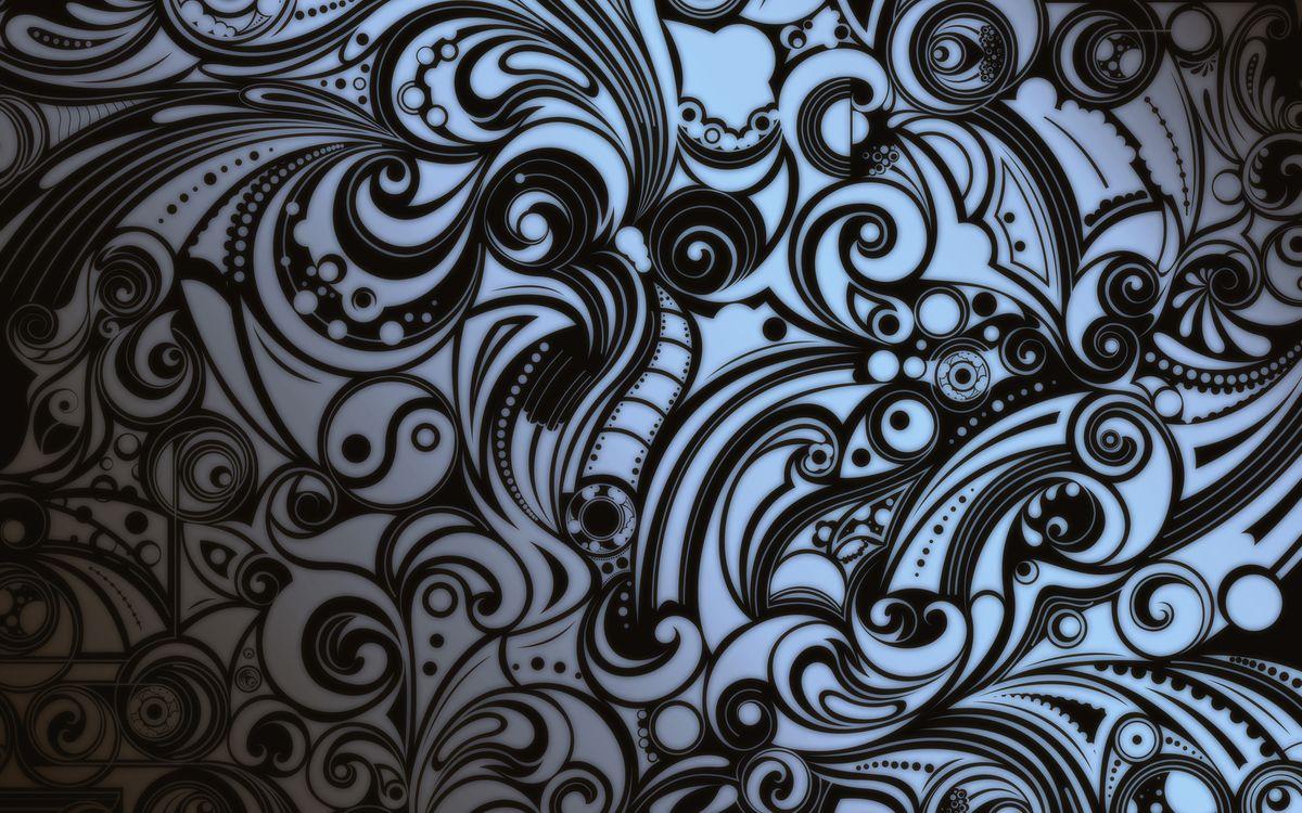 Фото бесплатно поверхность, рисунок, узоры, черно-белое, абстракции