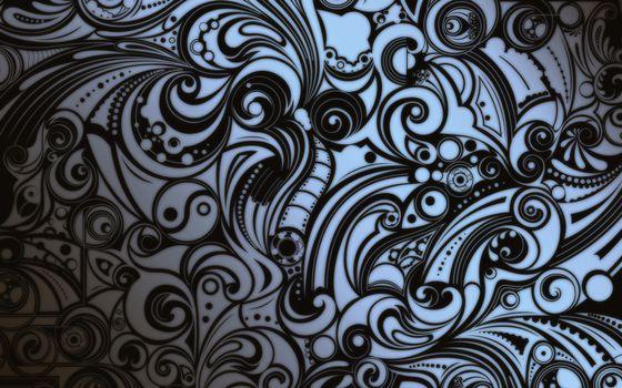 Фото бесплатно поверхность, рисунок, узоры, черно-белое