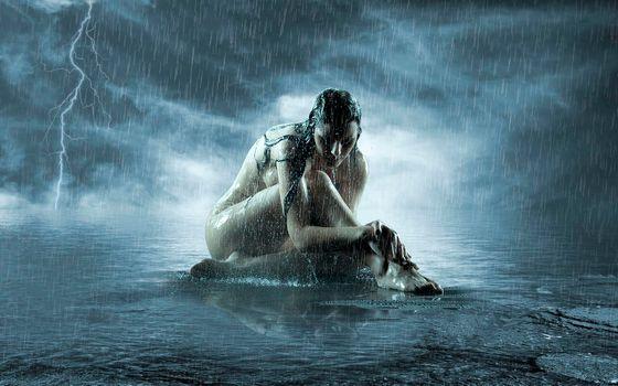 Фото бесплатно дождь, шторм - на рабочий стол