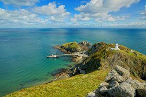 Бесплатные фото Lundy Island,Девон,Англия,Южный Уэльс,остров,маяк,пейзаж
