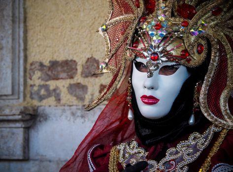 карнавал, маска, маски, венеция, италия