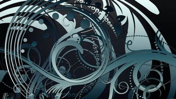Фото бесплатно голубой, абстракция