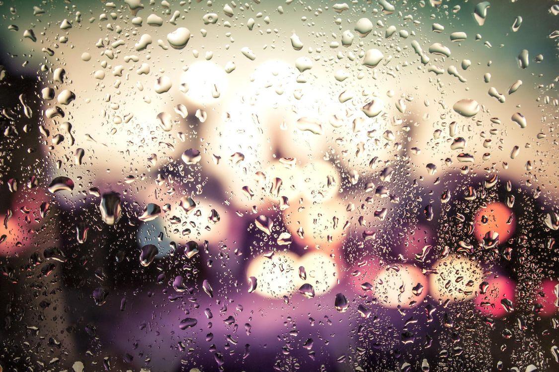 Free photo rain drops on glass, macro, rain - to desktop