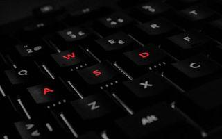 Бесплатные фото клавиатура,кнопки,подсветка,буквы
