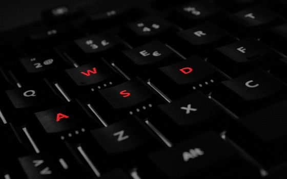 Фото бесплатно клавиатура, кнопки, подсветка