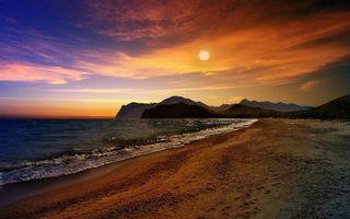 Бесплатно берег, фото небо лучшие
