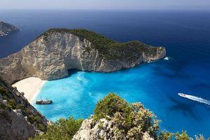 Бесплатные фото Остров Закинф,Греция,море,пляж,пейзаж