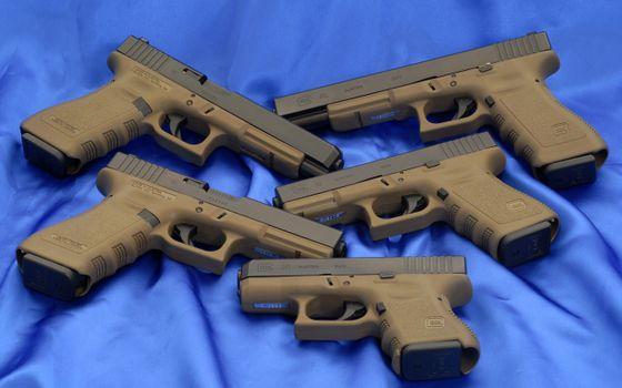 Фото бесплатно пистолеты, стволы, затвор