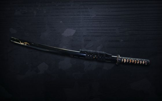 Photo free sword, katana, sheath