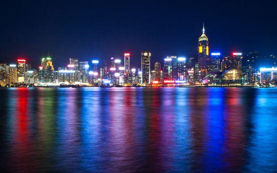 Бесплатные фото речка,города,свет,здания
