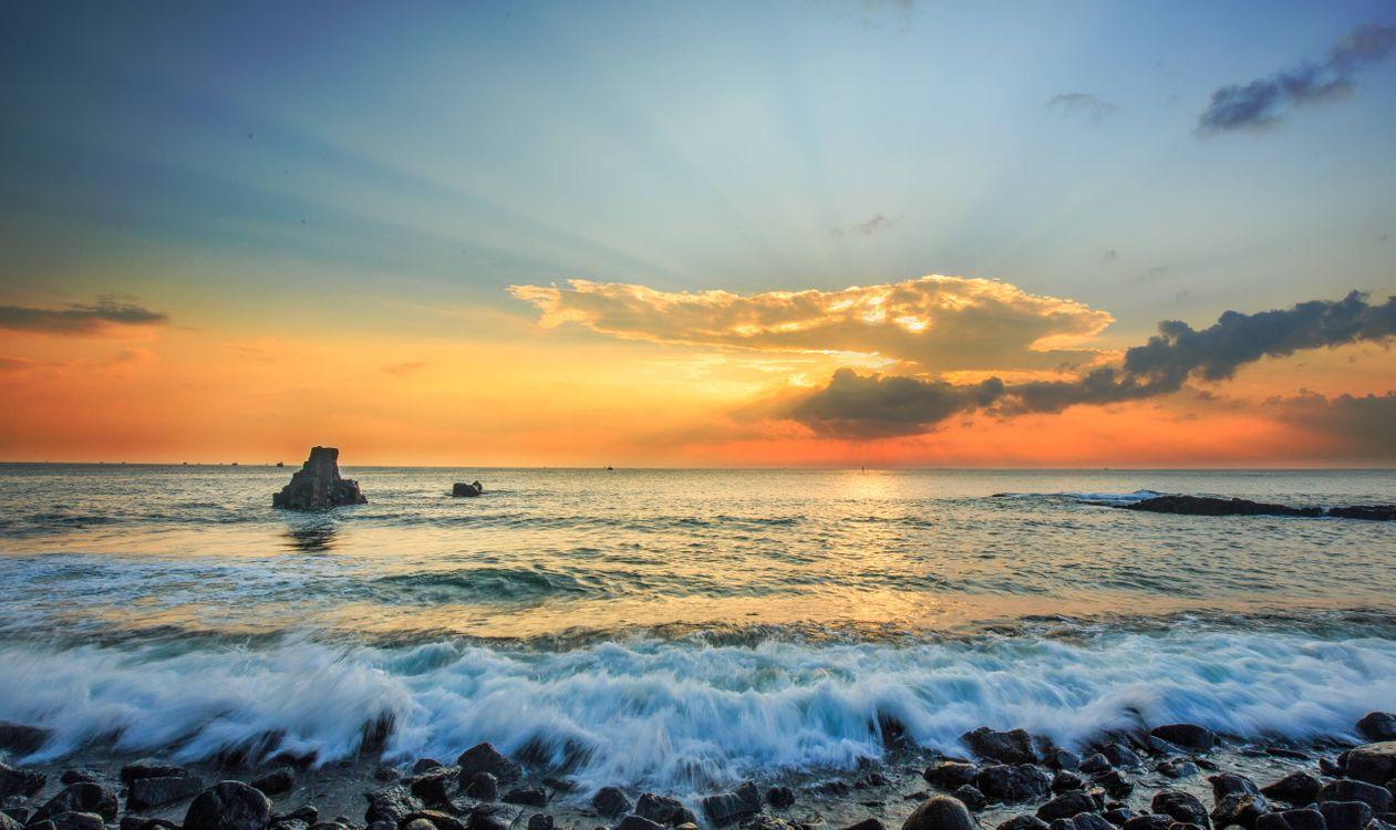 Фото на заставку камни, закат