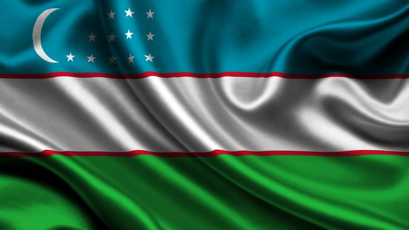 Фото бесплатно Средняя Азия, Центр, Узбекистан, Флаг, город