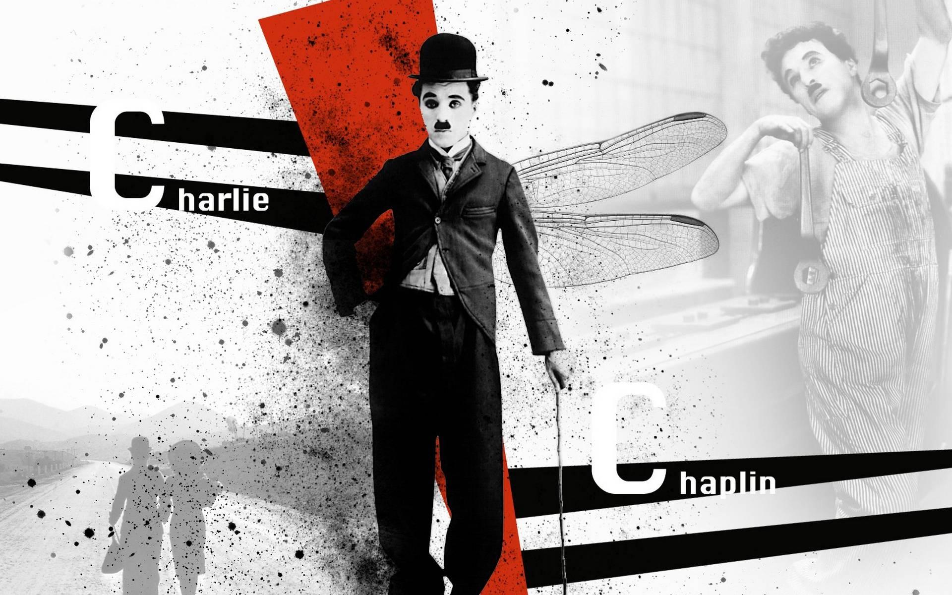 обои Чарли Чаплин, киноактер, комик, костюм картинки фото