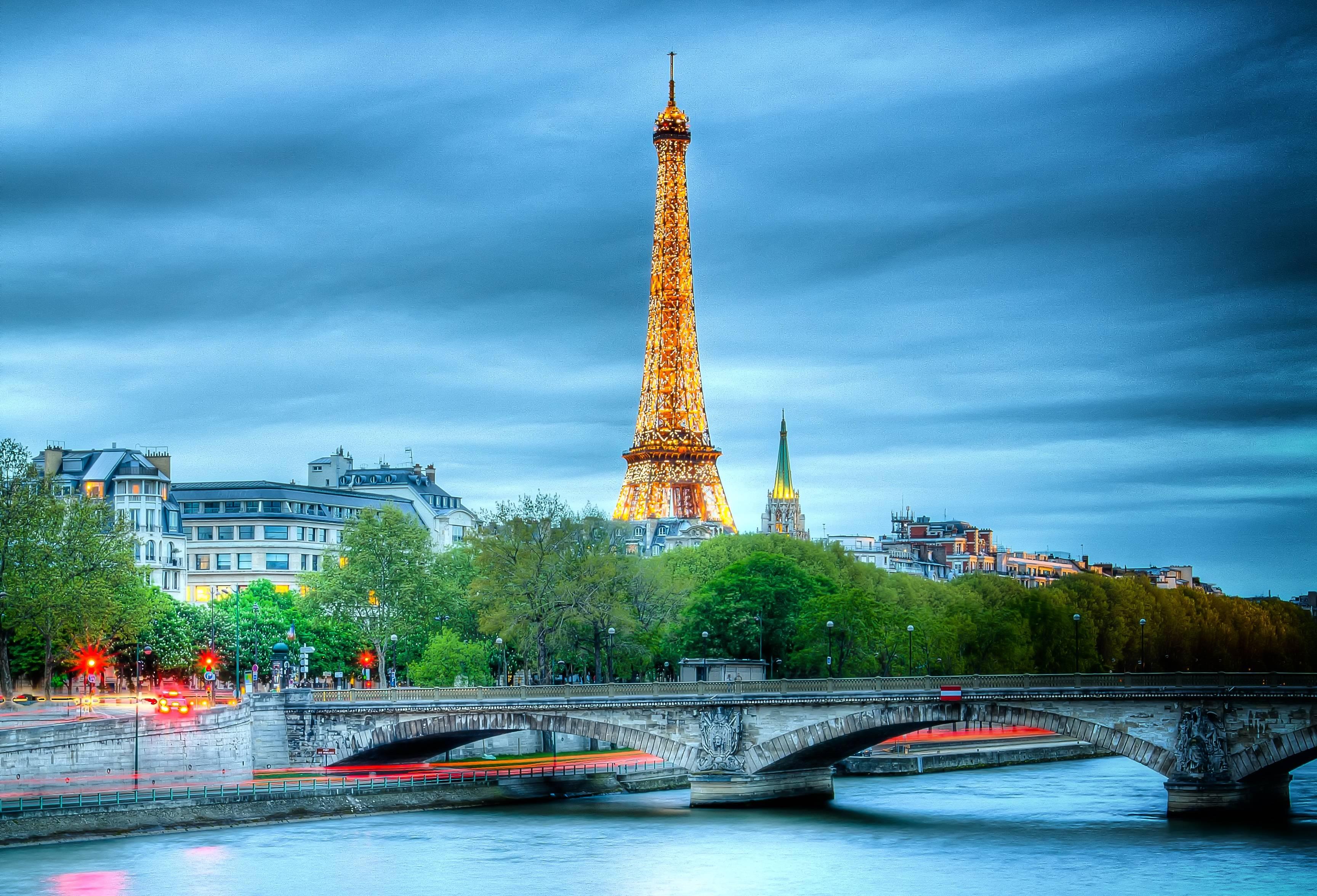 париж 3 д обои
