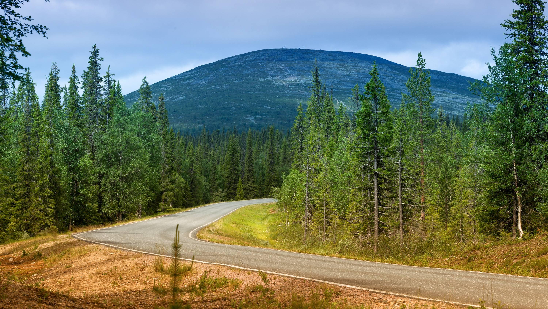 Финляндия, гора, холм
