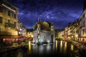 Photo free Zamok de L Ile, Annecy, France