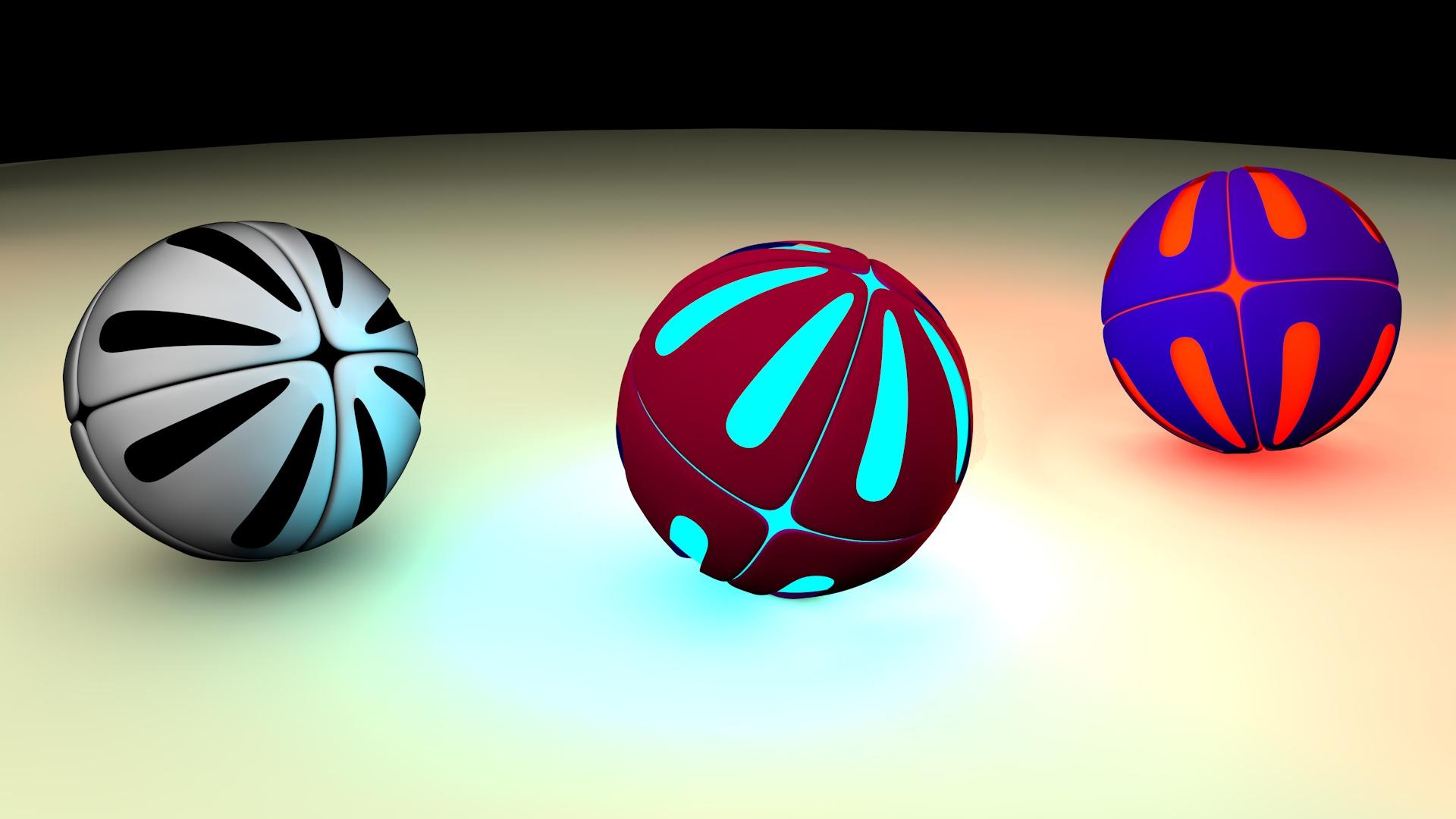 арт, моделирование, шарики