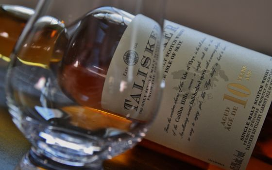 Фото бесплатно виски, Talisker, бутылка