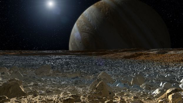 Заставки планета, Юпитер, спутник