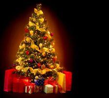 Фото бесплатно подарки, новогодние обои, игрушки