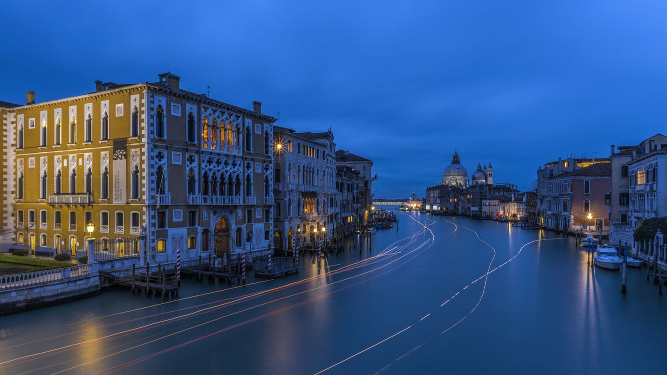 Photos for free Canal Grande, Venice, Italy - to the desktop