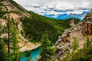 Бесплатные фото Национальный парк Банф,Alberta,Канада,Lake Louise,Banff Johnston Canyon,пейзаж