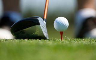 Фото бесплатно гольф, клюшка, мяч