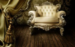 Photo free armchair, furniture, wallpaper