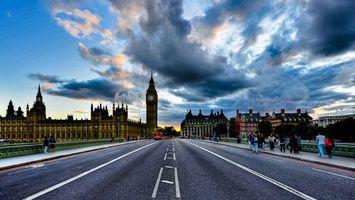 Заставки Англия, Лондон, Вестминстерский дворец