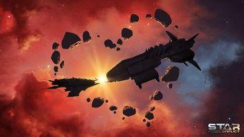 Бесплатные фото Star Conflict,онлайн игра,action,MMO SPACE ACTION,космос,Gaijin Entertainment,MMO