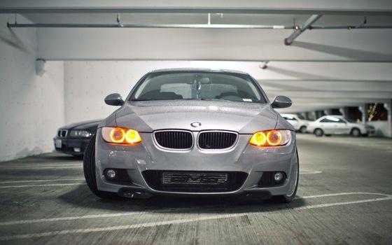 Фото бесплатно свет, фары, BMW