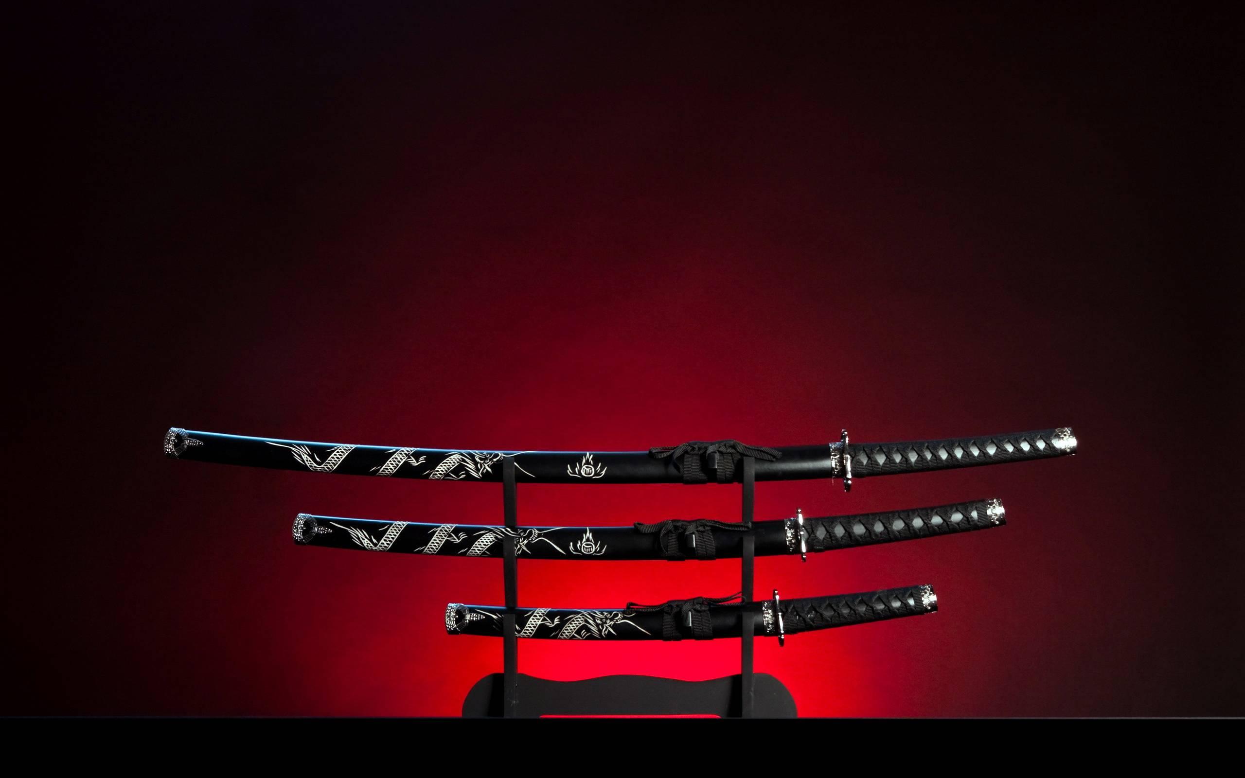 обои сабли, японское оружие картинки фото