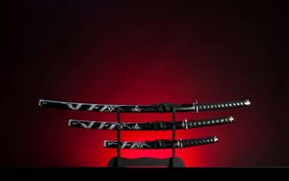 Photo free swords, Japanese weapons