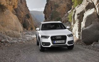 Photo free audi, white, crossover