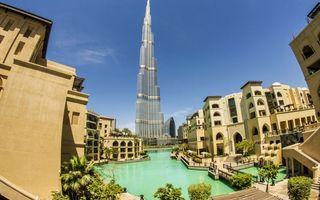 Фото бесплатно тропики, дома, отели, курорт, вода, небоскреб, башня