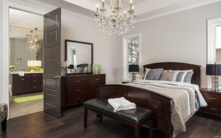 Бесплатные фото спальня, кровать, постель, комод, зеркало, тумбочки, светильники