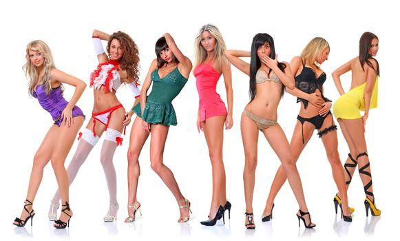 Бесплатные фото девушки,красотки,нижнее бельё,модели